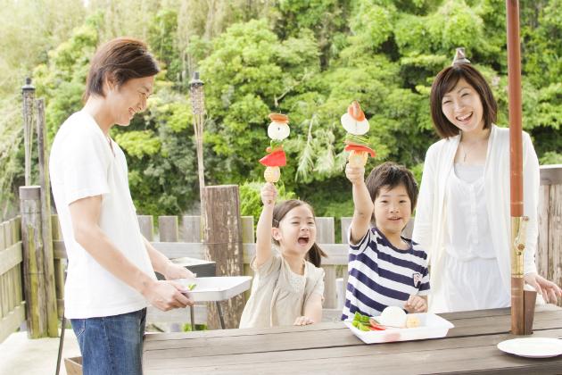 夏に注意したい子供の病気