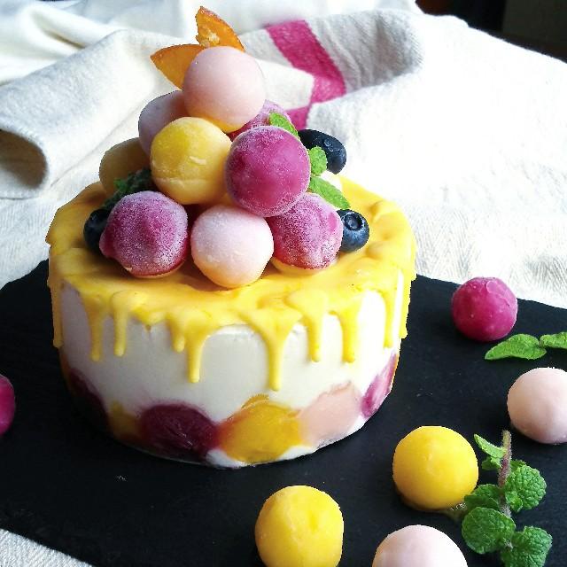 手作りアイスケーキ