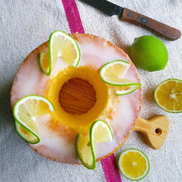 レモンで華やかに飾り付ける