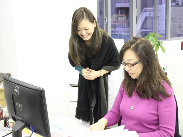 【扶養内調整歓迎】30代の主婦活躍中◎週2~OK!子育てママが働きやすい職場で、営業事務アシスタントとして活躍しよう♪