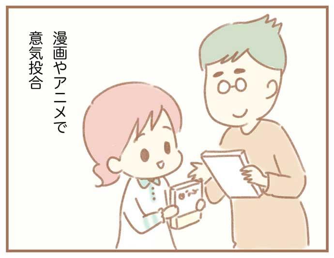 夫の扶養から抜け出したい~専業主婦の挑戦~1:漫画やアニメで意気投合