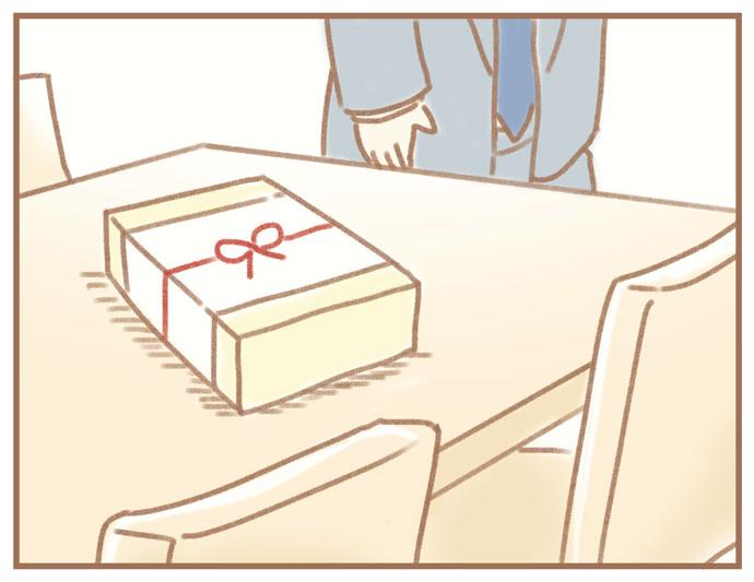 (ふよぬけ)夫の扶養から抜け出したい~専業主婦の挑戦~5:(テーブルの上にお菓子)